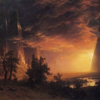 800px-Bierstadt_Albert_Sunset_in_the_Yosemite_Valleyedited