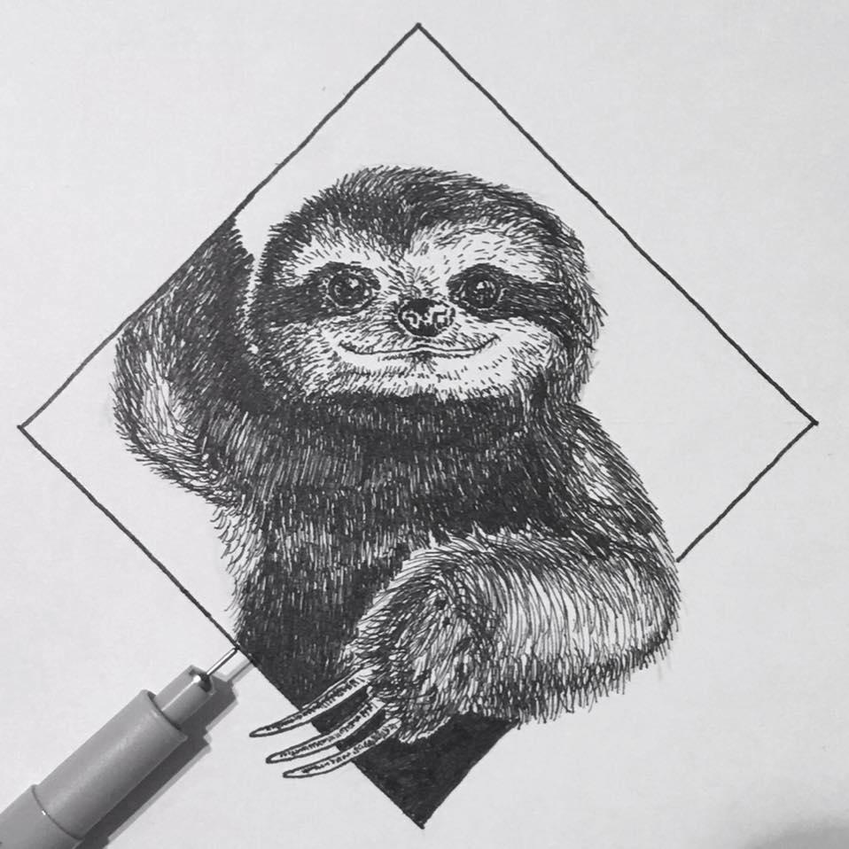 Drawing by Artscrawler