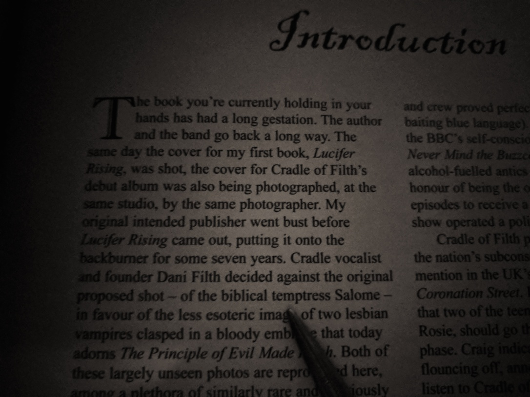 The Gospel of Filth Introduction