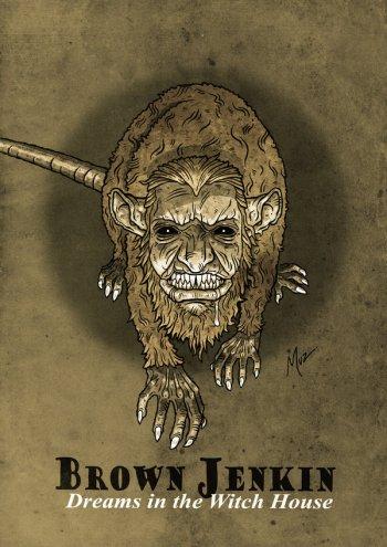 Brown Jenkin (illustration by Muzski)