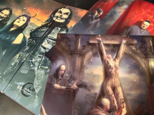 Hammer of the Witches vinyl inner artwork